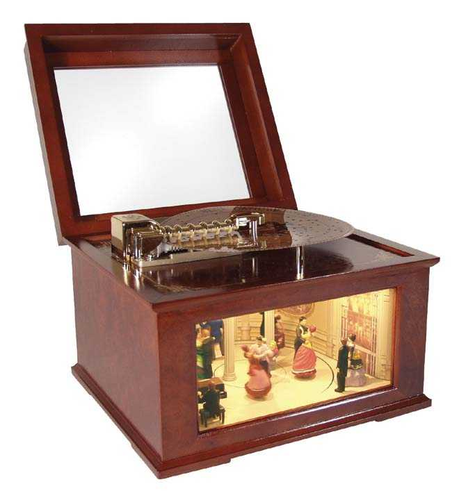 Old Fashioned Music Box For Sale