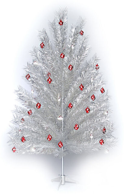 aluminum christmas tree made in the usa